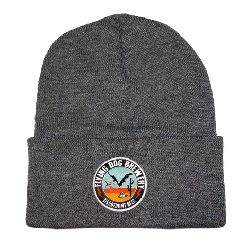 Flying Dog Patch Beanie