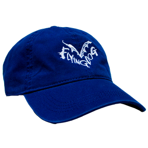 Blue Flying Dog Dad Hat