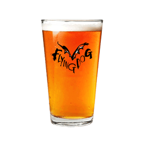 Flying Dog Pint Glass