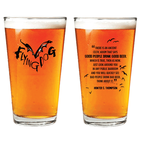 Flying Dog Glass