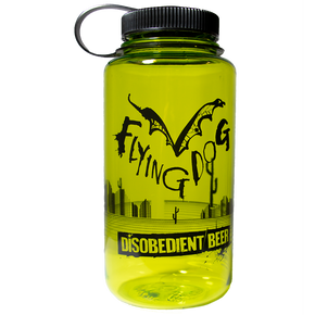 Flying Dog Disobedient Beer Nalgene Water Bottle