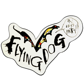 Flying Dog sticker