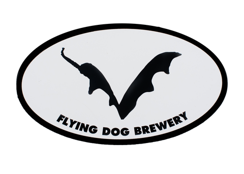 Flying Dog Batwing Magnet