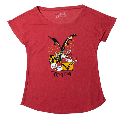 Women's FLying Dog Maryland Shirt