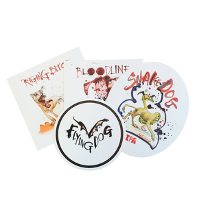 Flying Dog stickers