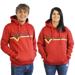 Flying Dog Stripe Hoodie