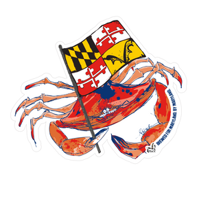 MD Crab Sticker