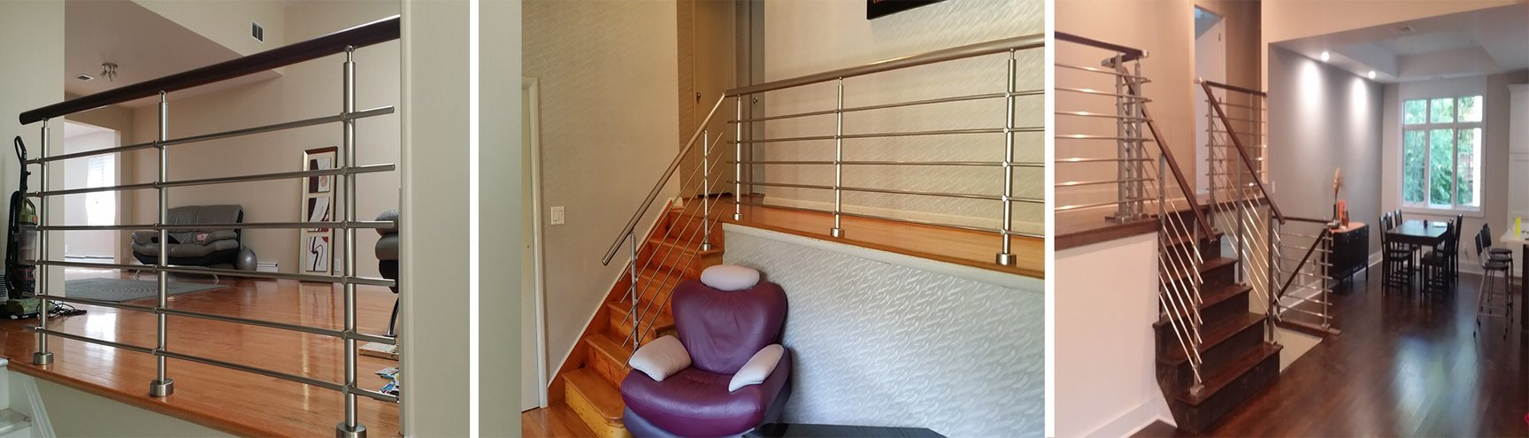 DIY Modern Stairway and Balcony Railing Kits for home & office ...