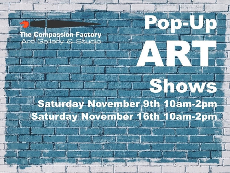 Nov. 16 Pop-Up Art Show