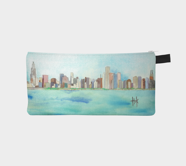 Pencil Case - Skyline