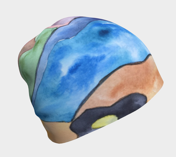 Beanie - Floral Abstract