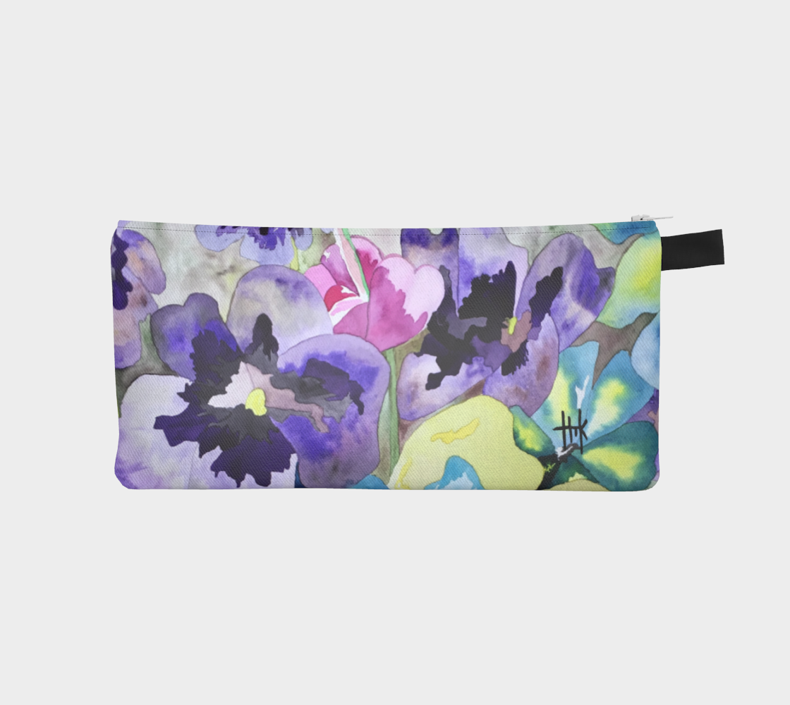 Pencil Case -Spring Flowers