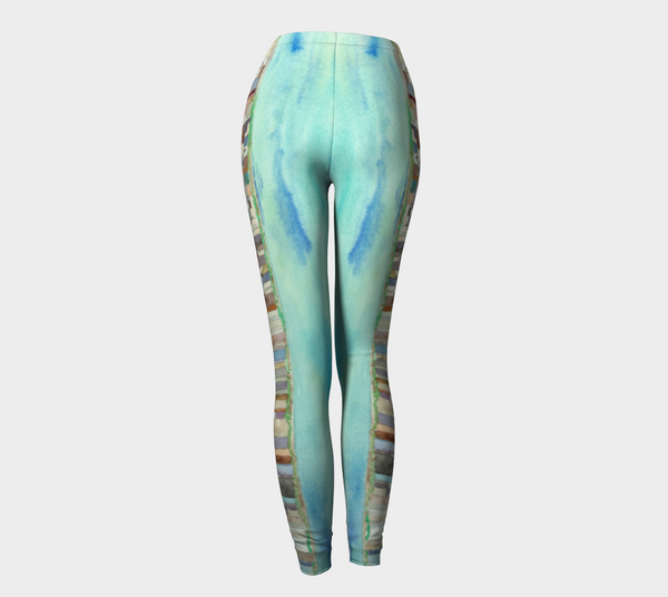 Leggings - Skyline