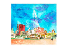BUCKINGHAM FOUNTAIN - CARDS