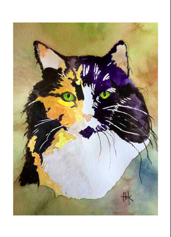 CALICO CAT - CARDS