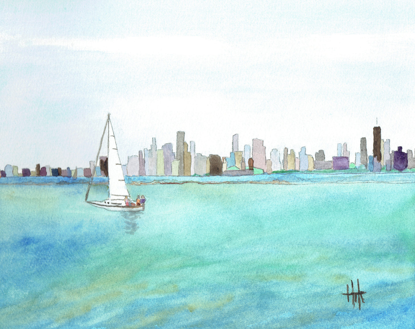 CHICAGO SKYLINE - PRINT