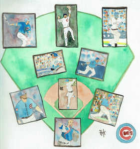 CUBS COLLAGE- PRINT