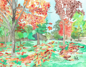 FALL FOLIAGE - CARDS