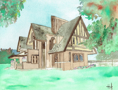 FRANK LLOYD WRIGHT MOORE-DUGAL RESIDENCE - PRINT