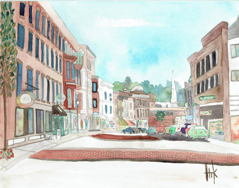 GALENA STREETSCAPE - CARDS