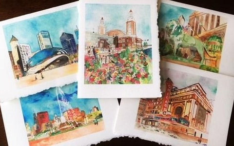 CHICAGO LANDMARKS VARIETY PACK - CARDS