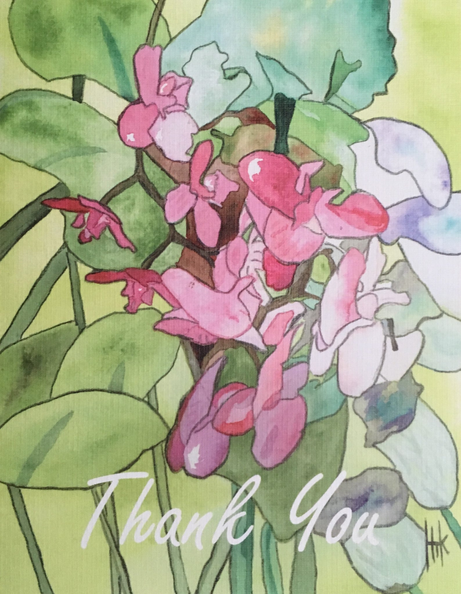 "IRIS ""THANK YOU"" - NOTE CARDS"