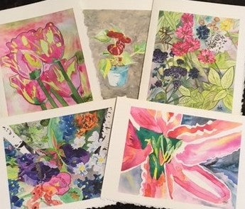 FLOWERS VARIETY PACK - CARDS