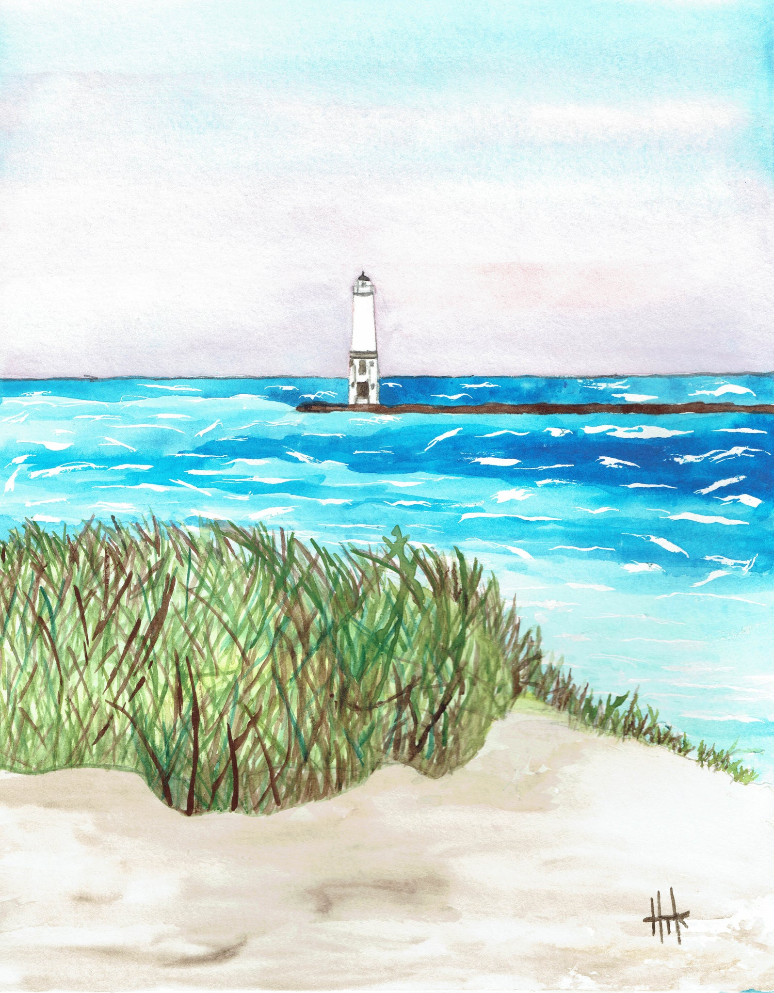 LIGHTHOUSE IN SUMMER BREEZE
