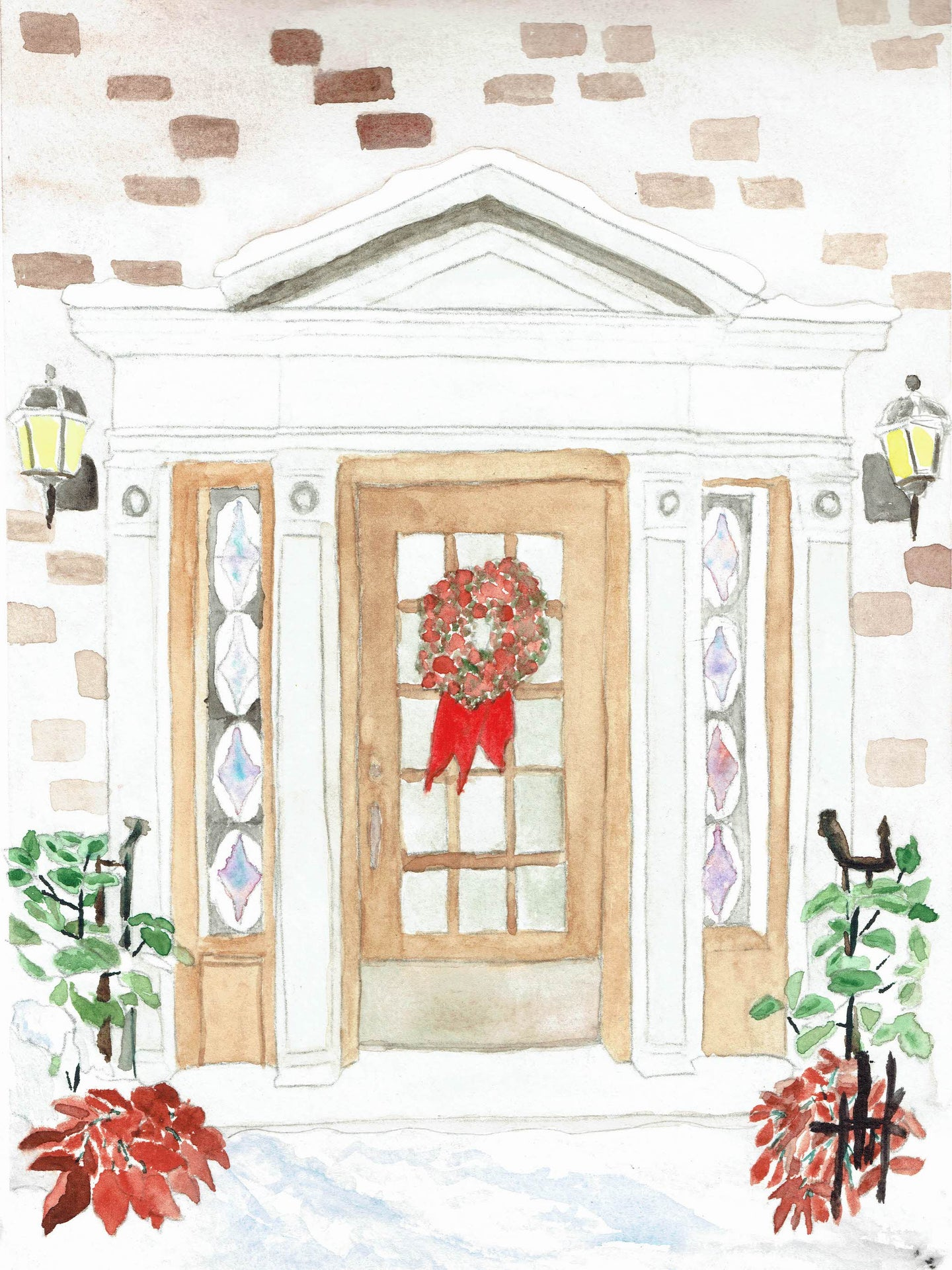 ONTARIO CHRISTMAS DOOR