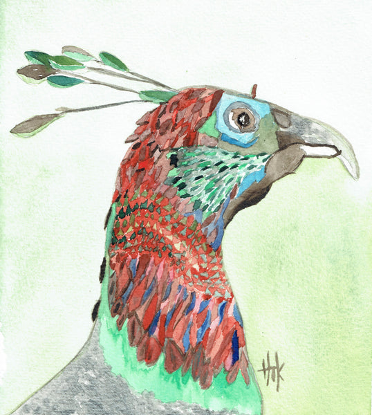 PEACOCK PROFILE - CARDS
