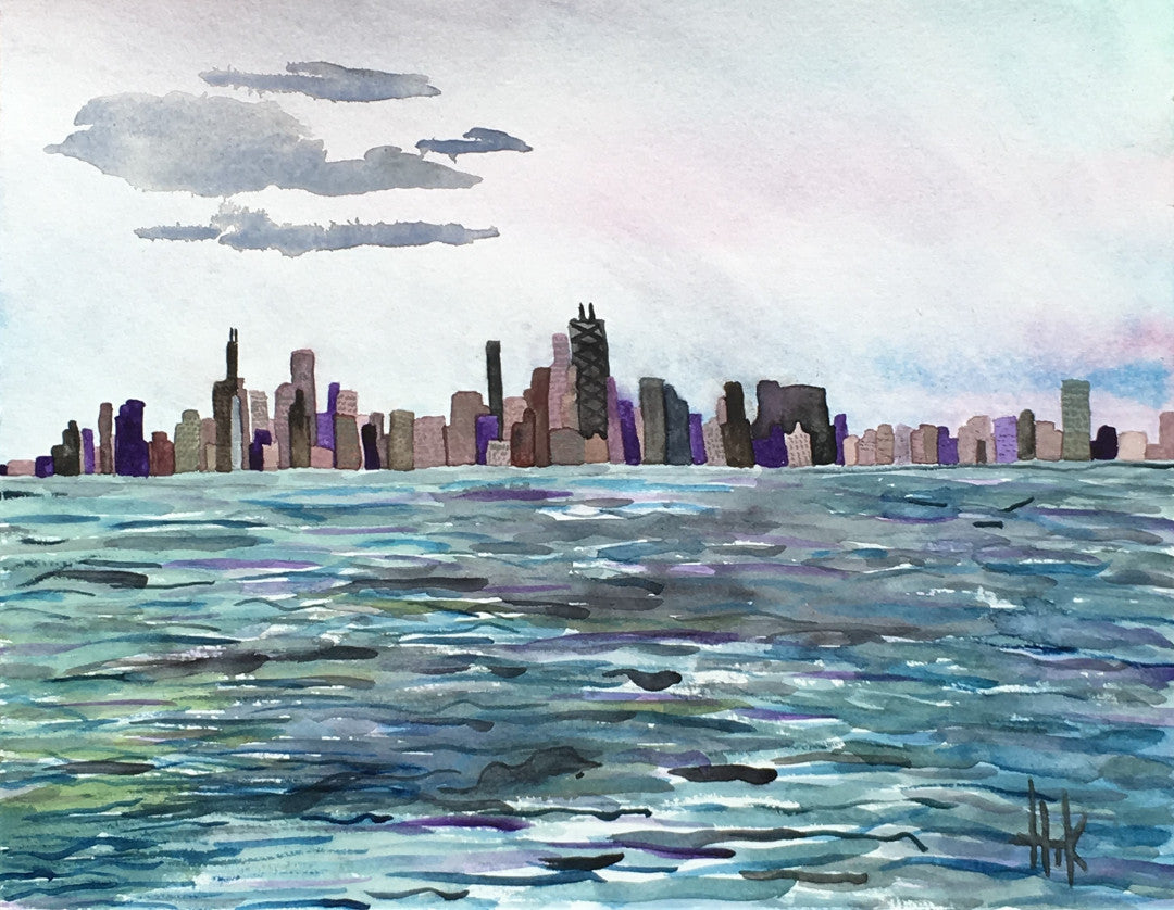 SKYLINE CHICAGO - PRINT