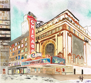 CHICAGO THEATRE - CARDS