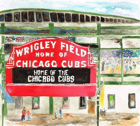 WRIGLEY FIELD - CARDS