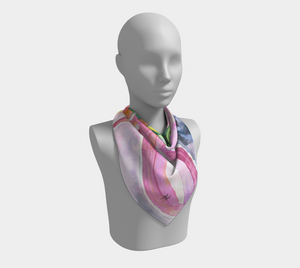 Square Scarf - Psychedelic Spray