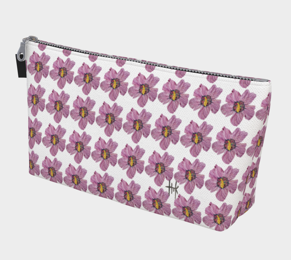 Toiletries Bag - Fuchsia Flares