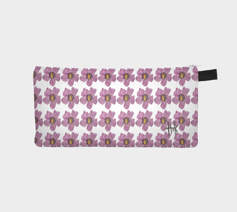 Pencil Case - Fuchsia Flares