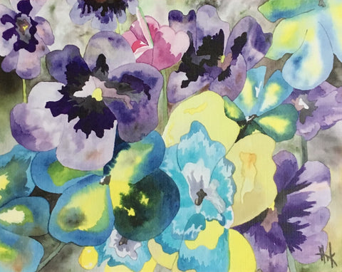 SPRING FLOWERS - NOTE CARDS