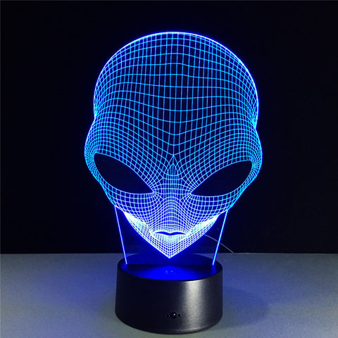 Bob the Alien Illusion Lamp - Trip City