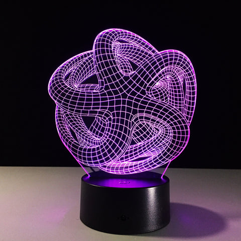Psychedelic Starfish Illusion Lamp - Trip City