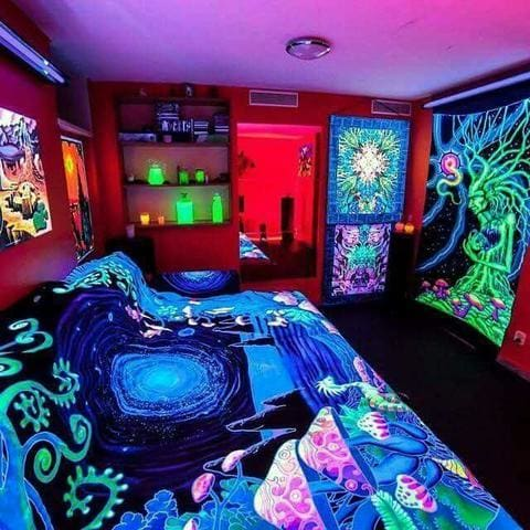 Black Light Room Trip City