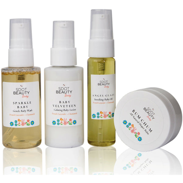 SDOT Beauty Baby Minis Travel Set