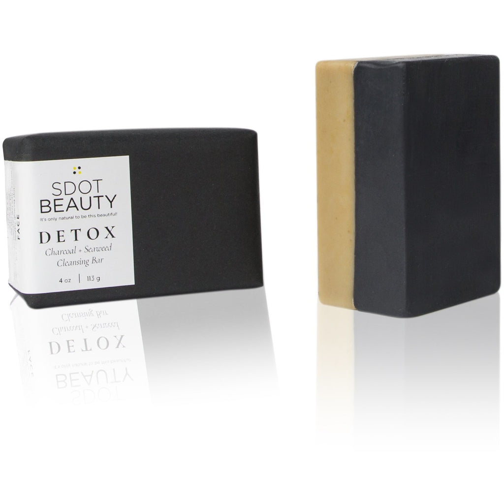 DETOX Charcoal + Seaweed Cleansing Bar
