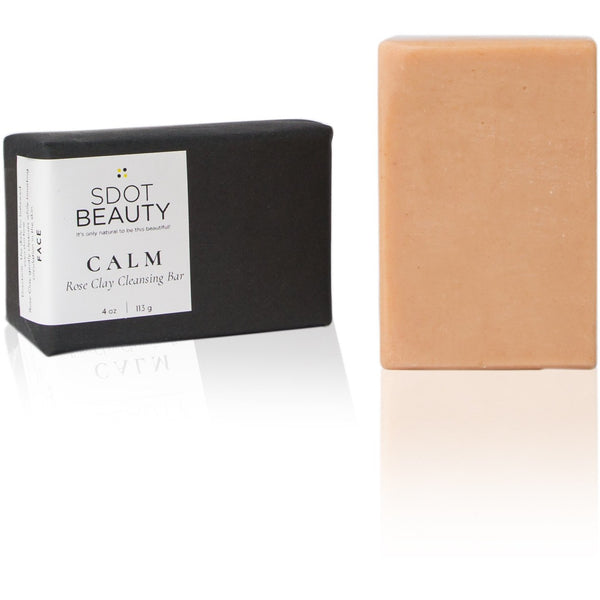 CALM Rose Clay Cleansing Bar