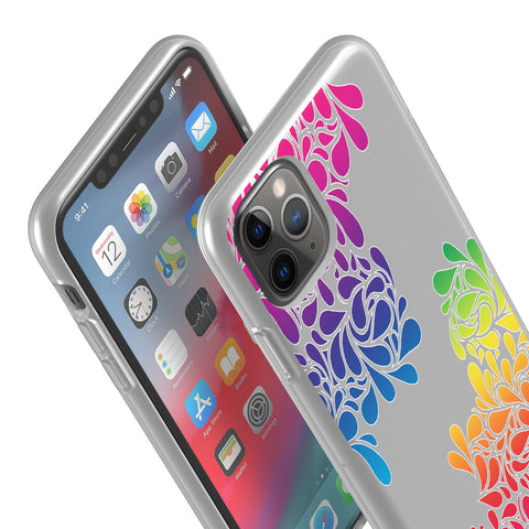 groovy drops iphone flexi case