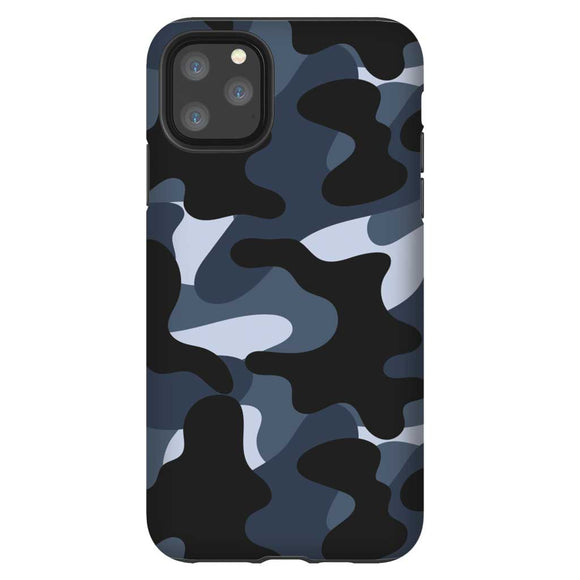 Blue Camo iPhone
