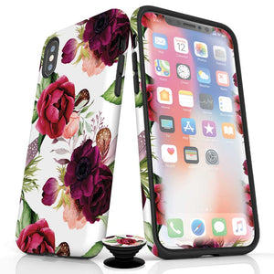 Boho Floral iPhone Protection Bundle