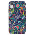 Green Paisley iPhone Tough Case