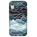 Indigo Mountains iPhone Tough Case