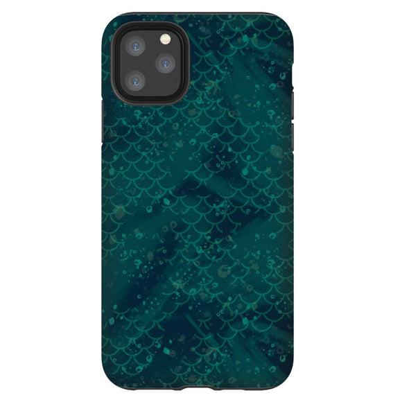 Teal Scales iPhone