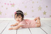 Twinkle Twinkle Little Star Pink Photography Backdrop